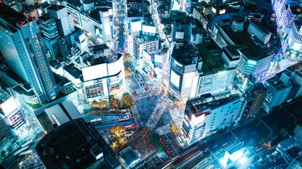 Deurstickers Tokio Shibuya,Tokyo,Japan