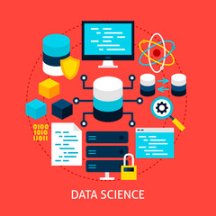 Data Science Flat Concept