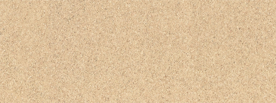 Rough cork board texture material