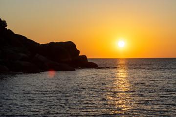 Sunrise at Thailands tropical Similan Islands