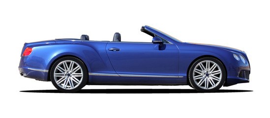 Wall Mural - sporty luxury convertible