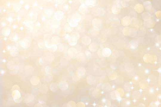 abstract blur soft gradient gold color background with star glittering light for show,promote and advertisee product and content in merry christmas and happy new year season collection concept