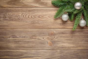 Boże Narodzenie - tło drewniane