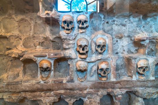 Skull Tower in Nis