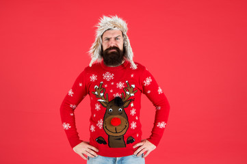 Join holiday party craze and host Ugly Christmas Sweater Party. Winter party outfit. Buy festive...