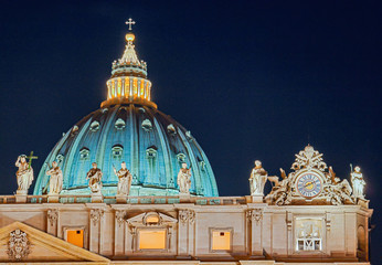 Petersdom in Rom Italien