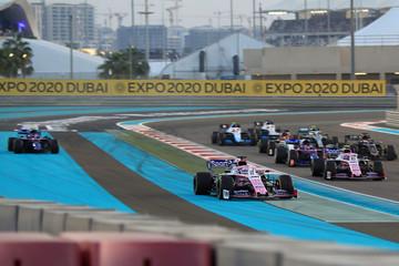 2019 F1 Abu Dhabi Grand Prix Race Day Dec 1st