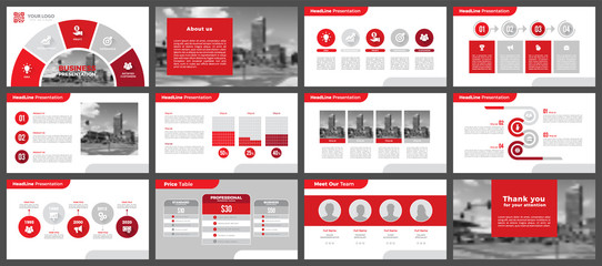 Presentation templates, corporate. Elements of infographics for presentation templates. Annual report, book cover, brochure, layout, leaflet layout template design.