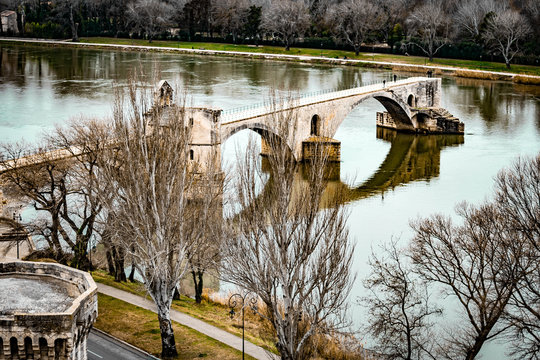 Pont Avignon, vauclusen france