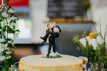 same sex marriage wedding cake
