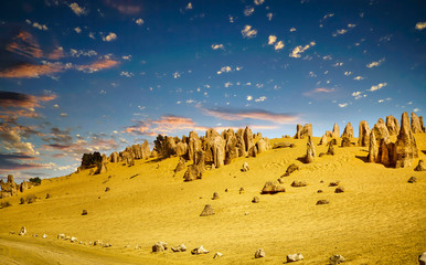 Pinnacles a natural attraction of Western Australia