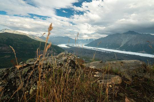 Matanuska Glacier and many more from Lion Head in Glacier View Alaska
