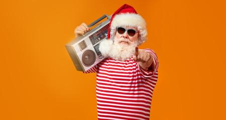 Papiers peints Magasin de musique Cool DJ with tape recorder