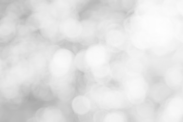 Abstract blurred white and silver color background with star glittering light for show,promote of...