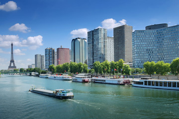 Papiers peints Chicago パリ新市街からエッフェル塔