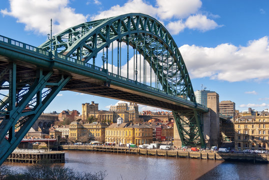 Tyne Bridge At Newcastle