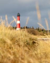 Leuchtturm von Hörnum auf Sylt, Nordsee
