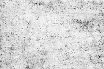 Fotobehang - Painted light dirty wall.Grunge rough texture with gray shadow.