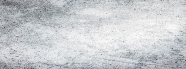 Fotobehang - Scratched grunge texture with old,dusty and dirty surface.Vintage retro background.Long panoramic horizontal format.