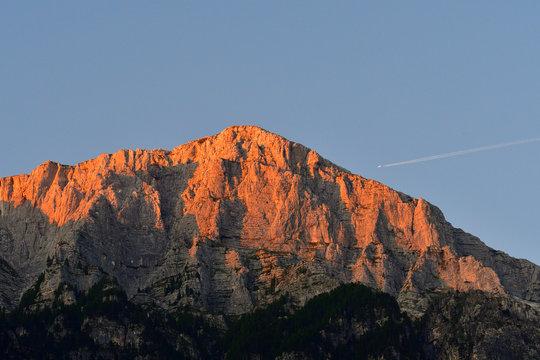 Mount Cimone im Raccolana-Tal in Italien