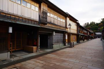 Higashi Chaya District, Kanazawa City, Ishikawa Pref., Japan