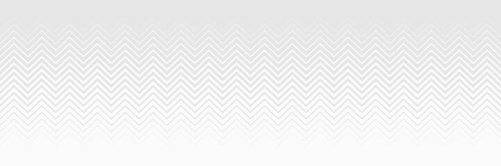 White seamless zigzag background. Modern style. Halftone transition.