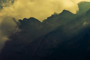 Wall Mural - Dramatic Mountain Vista