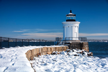 Portland Maine Breakwater Lighthouse