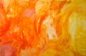 Painting abstract artwork oil color texture