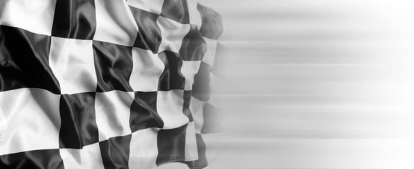 Checkered racing flag Fototapete