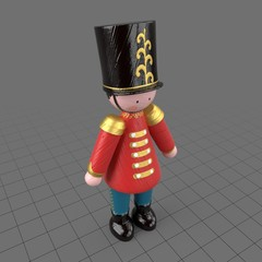 Nutcracker toy soldier