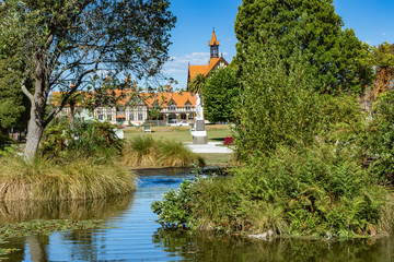 Rotorua Government Gardens auf der Nordinsel von Neuseeland