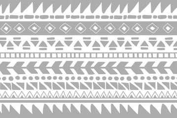 Vector ethnic pattern. Hand drawn background
