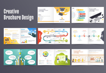 Colorful Brochure Layout