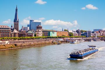 Wirtschaftsmetropole am Rhein: Düsseldorf