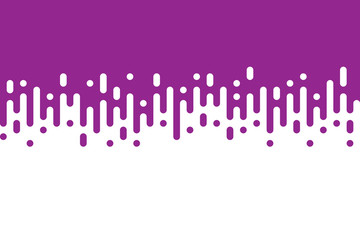 Abstract creative purple rounded lines halftone transition
