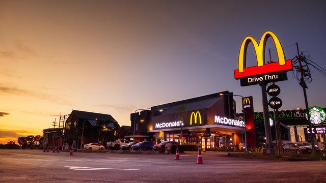 McDonald's Corporation is the world's largest chain of hamburger fast food restaurants