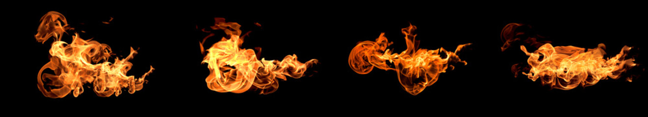 Flames fire burning heat.
