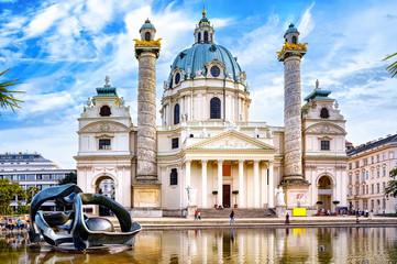 The Rektoratskirche St. Karl Borromäus, commonly called the Karlskirche (English: St. Charles Church), is a baroque church located on the south side of Karlsplatz in Vienna, Austria.