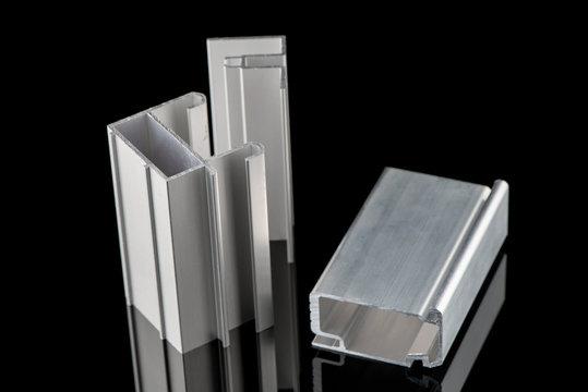 Aluminum profile sample