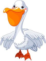 Foto op Aluminium Sprookjeswereld Pelican