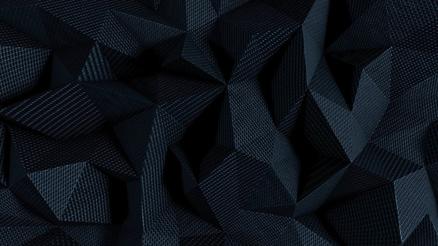 Abstract background with black fabric texture