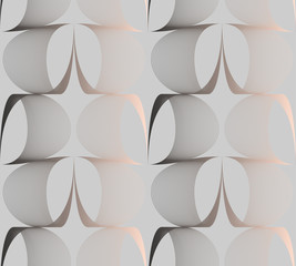 retro wired wallpaper ivory silver