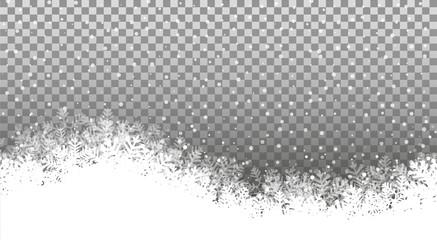 Wall Mural - Weihnachten Hintergrund Schnee eps10 Illustration vektor