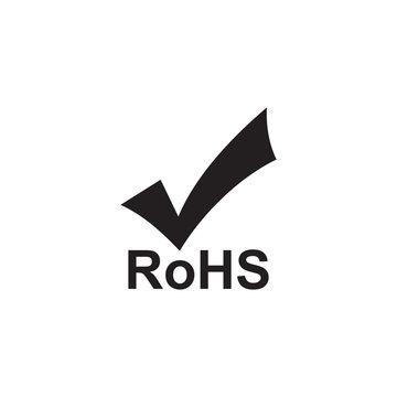 Rohs icon symbol vector illustration