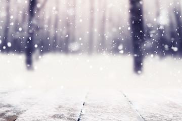 Foto auf Leinwand Weiß Christmas