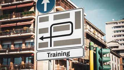 Street Sign to Training