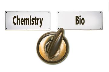 Street Sign Bio versus Chemistry