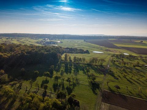 Luftbild Stammheim