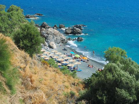Badebucht in Panormos - Kalymnos